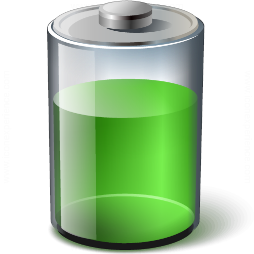 Battery Green 67 Icon