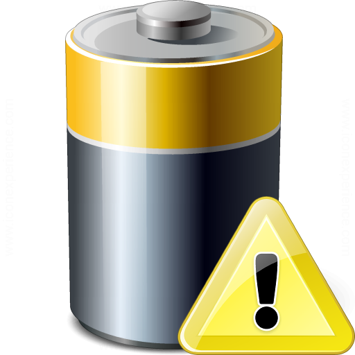 Battery Warning Icon