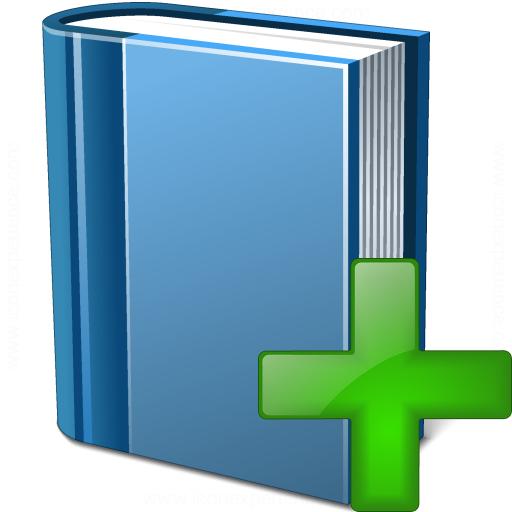 Book Blue Add Icon