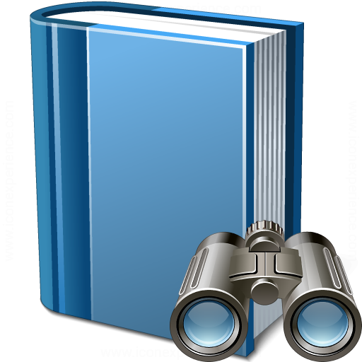 Book Blue Find Icon