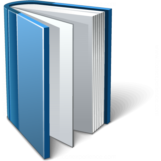 Book Blue Open Icon