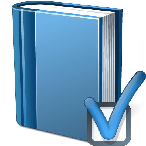 Book Blue Preferences Icon