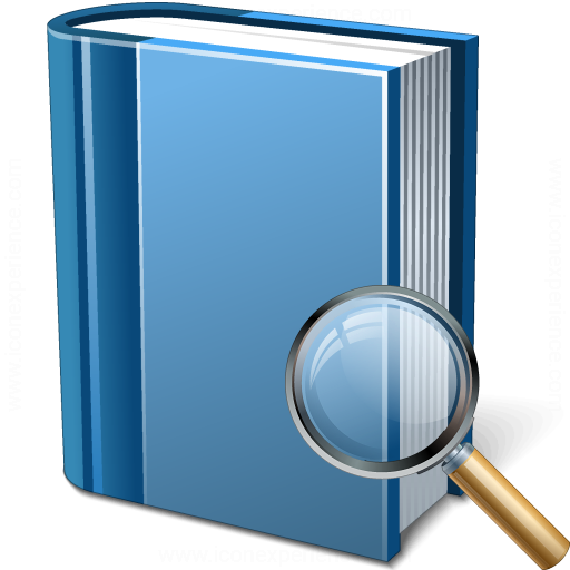 Book Blue View Icon
