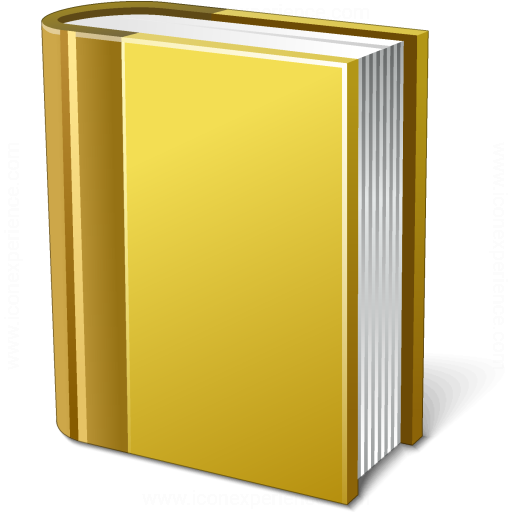 Book Yellow Icon