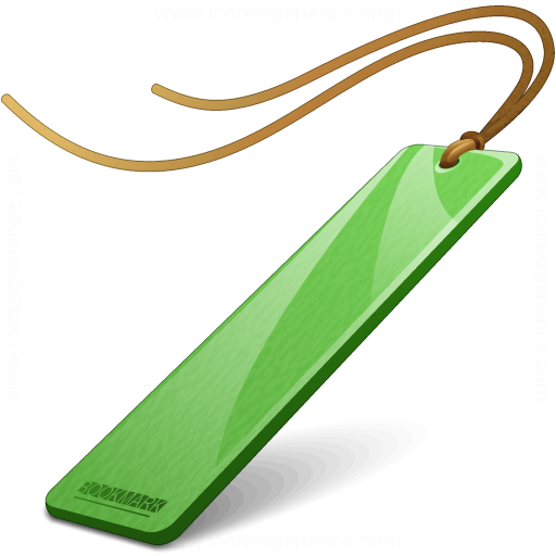 Bookmark Green Icon