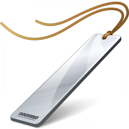 Bookmark Silver Icon