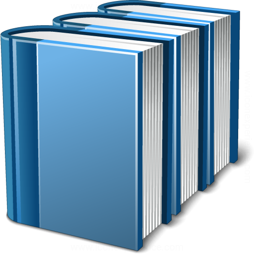 Books Blue Icon