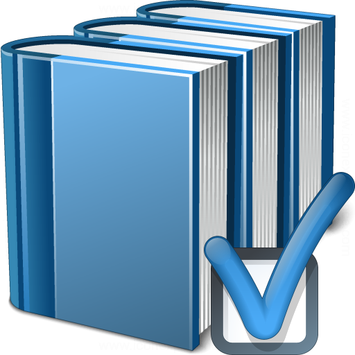 Books Blue Preferences Icon