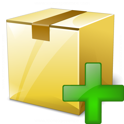 Box Closed Add Icon