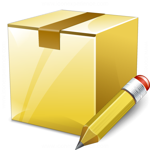 Box Closed Edit Icon