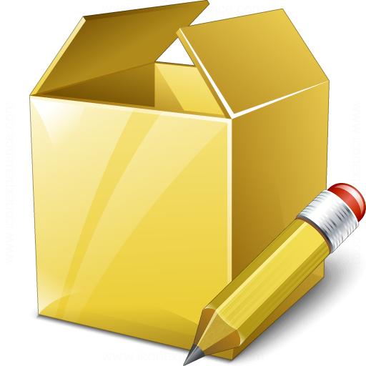 Box Edit Icon