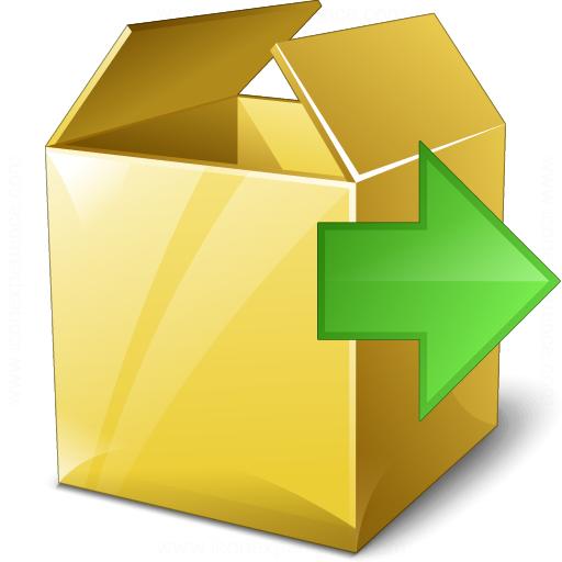 Box Next Icon