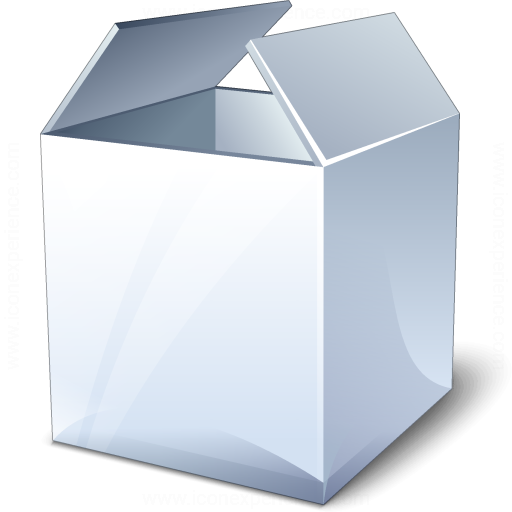 Box White Icon