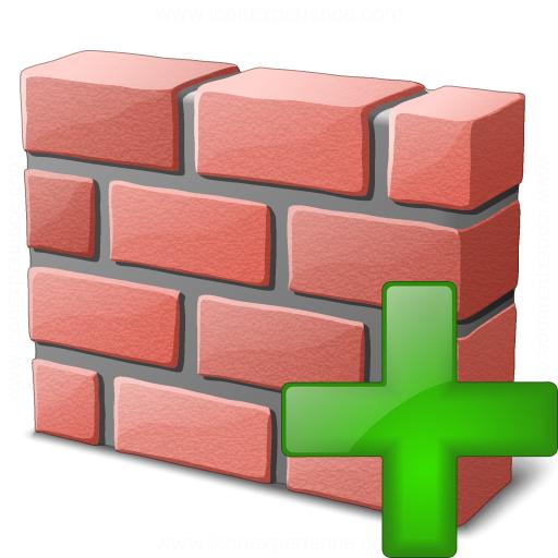 Brickwall Add Icon