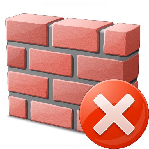 Brickwall Error Icon