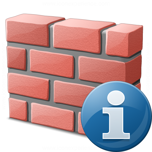 Brickwall Information Icon
