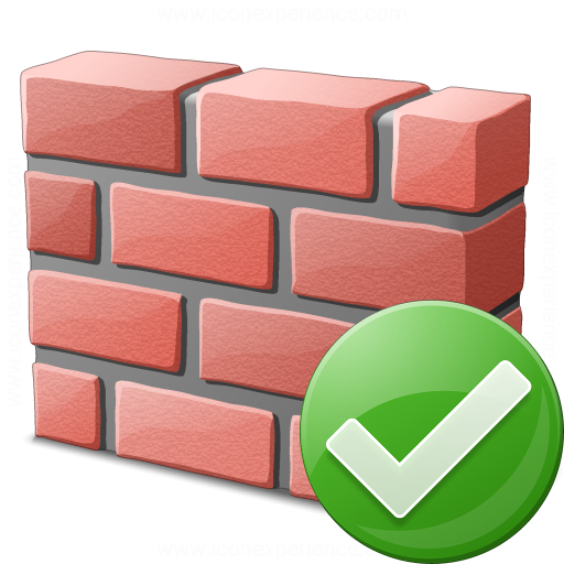 Brickwall Ok Icon