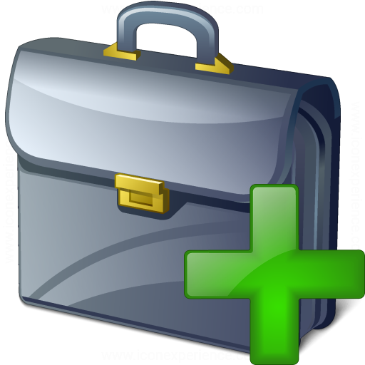 Briefcase Add Icon