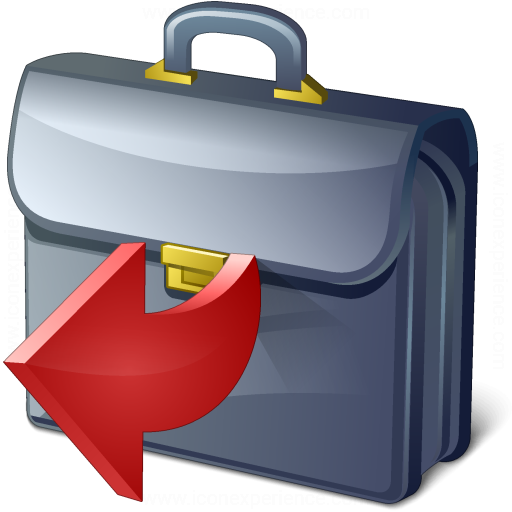 Briefcase Out Icon