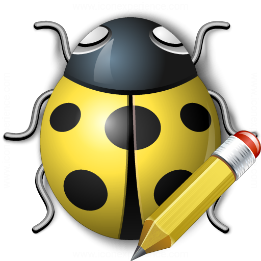 Bug Yellow Edit Icon