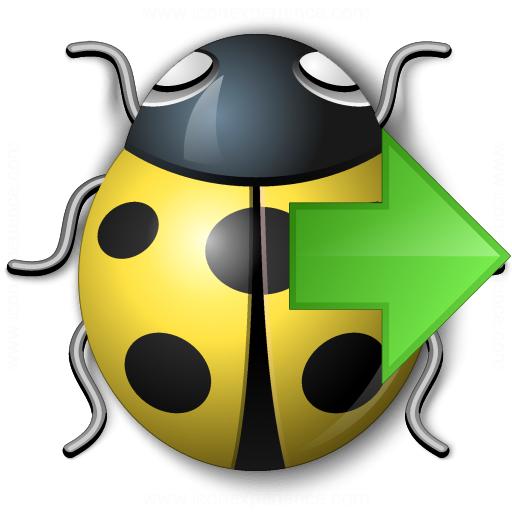 Bug Yellow Next Icon