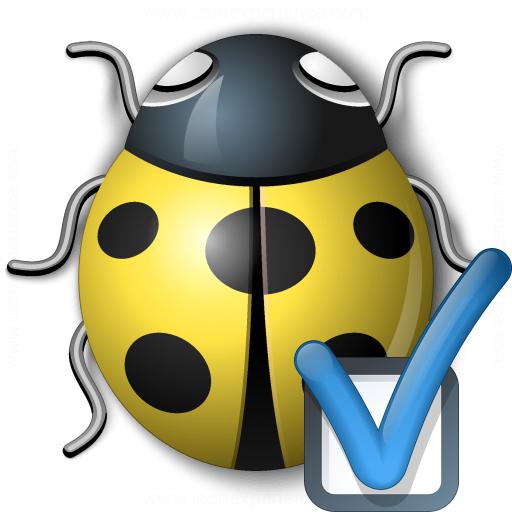 Bug Yellow Preferences Icon