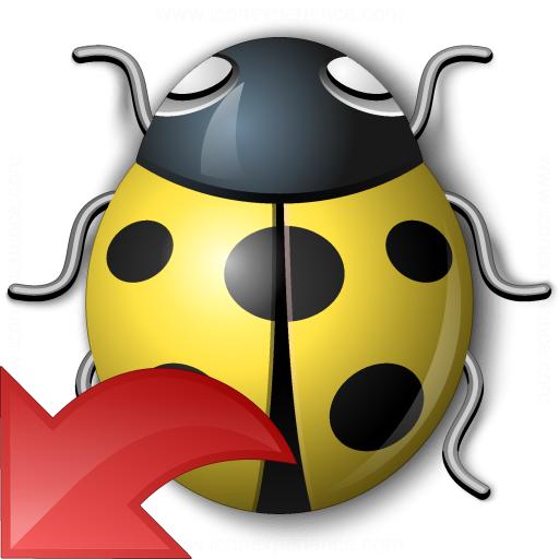 Bug Yellow Reset Icon