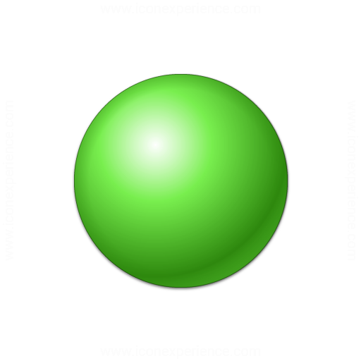 Bullet Ball Green Icon