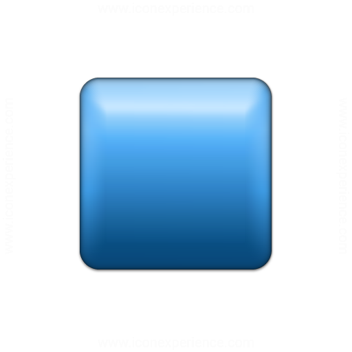 Bullet Square Blue Icon