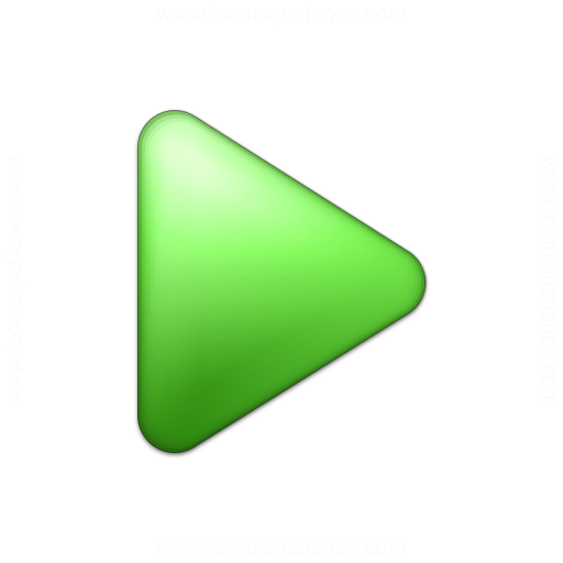 Bullet Triangle Green Icon