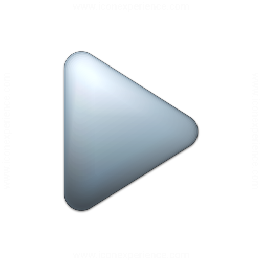 Bullet Triangle Grey Icon