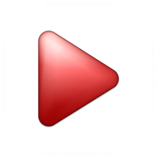 Bullet Triangle Red Icon