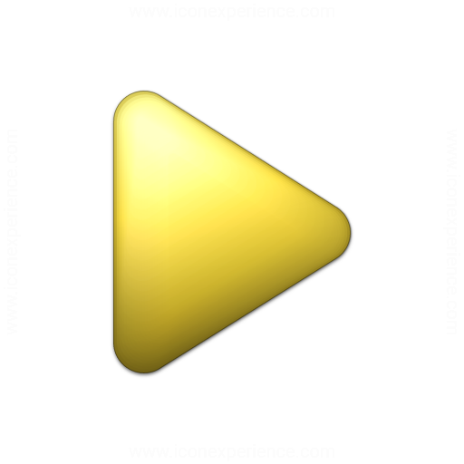 Bullet Triangle Yellow Icon