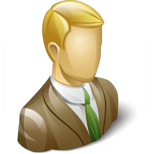 Businessman 3 Icon