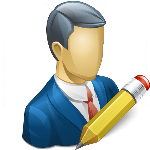 Businessman Edit Icon