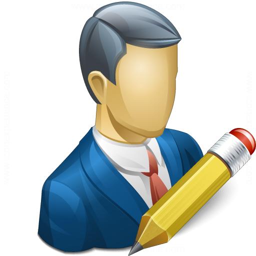 Businessman Edit Icon