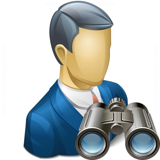 Businessman Find Icon