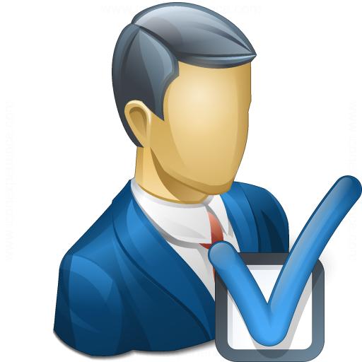 Businessman Preferences Icon