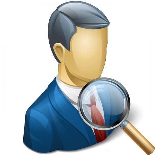 Businessman View Icon