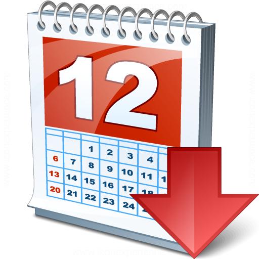 Calendar Down Icon