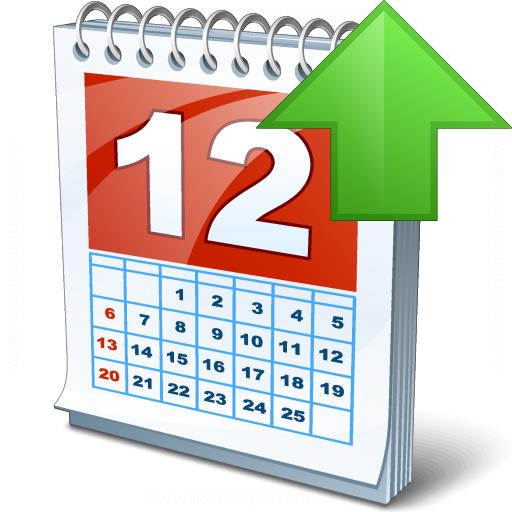 Calendar Up Icon