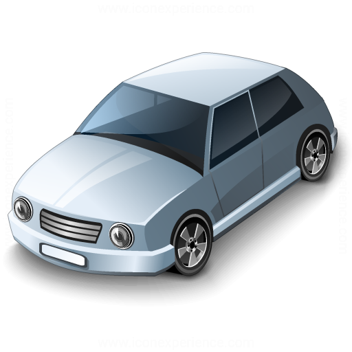 Car Compact Grey Icon