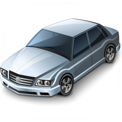 Car Sedan Grey Icon