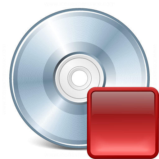 Cd Stop Icon