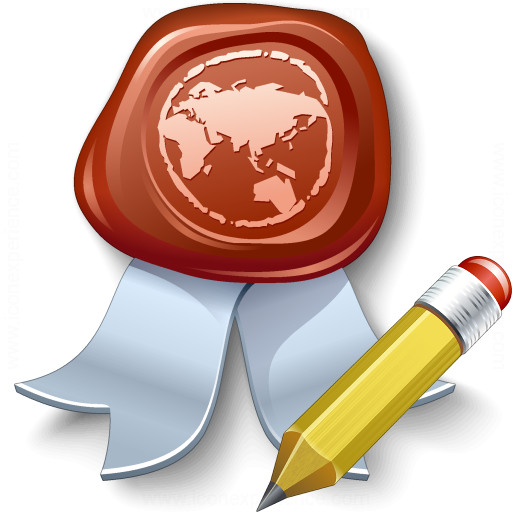 Certificate Edit Icon