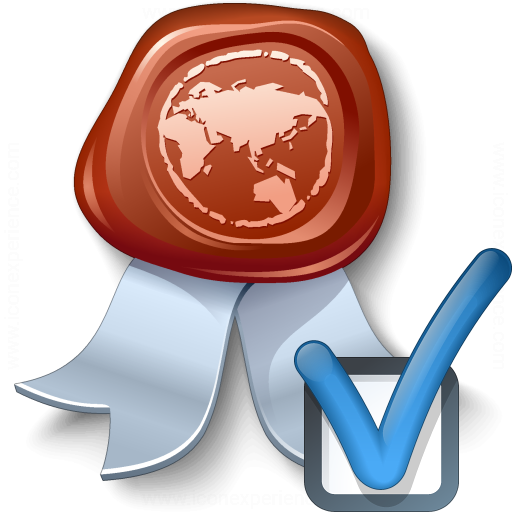 Certificate Preferences Icon