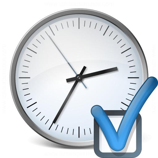 Clock Preferences Icon