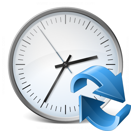 Clock Refresh Icon