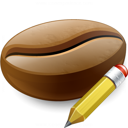 Coffee Bean Edit Icon