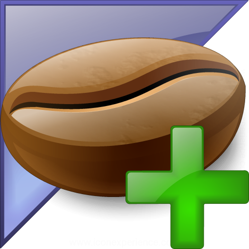 Coffee Bean Enterprise Add Icon